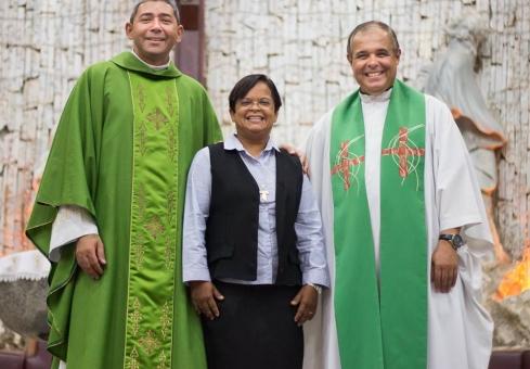 Despedida Pe. Zé Maria e irmã Gracinha