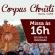 Atenção aos Horários de Corpus Christi